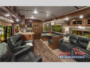 Dutchmen Denali travel trailer interior