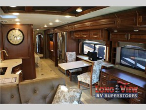 forest river charleston diesel class a motorhome interior