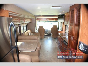 Forest River Legacy Class A Diesel Motorhome Living Area