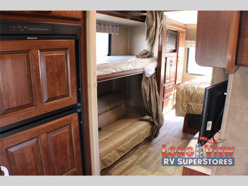 Forest River Sunseeker Class C motorhome bunks