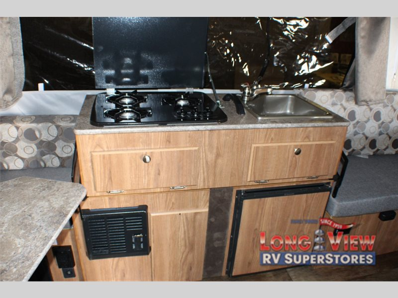 Forest River Rockwood Freedom Pop Up Camper Kitchen