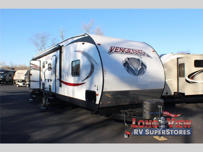 forest river Vengeance Super Sport toy hauler travel trailer