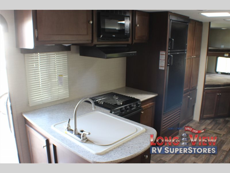 Keystone Bullet Travel Trailer Kitchen