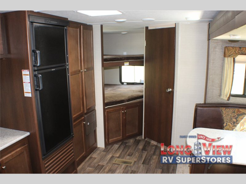 Keystone Bullet Travel Trailer Bunks