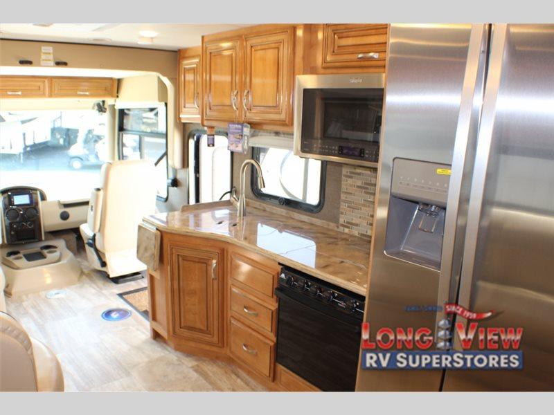Thor Motorcoach Challenger Motorhome Kitchen