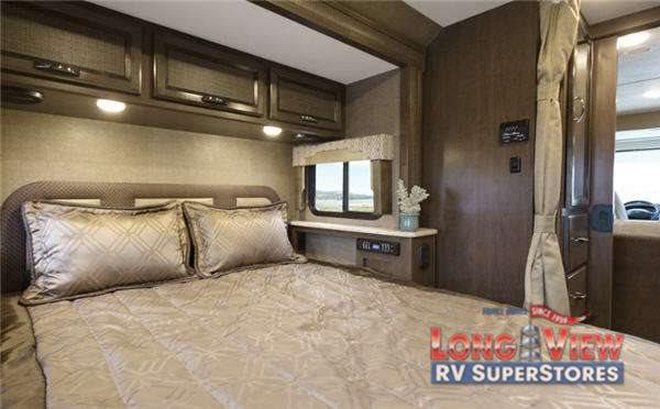 Thor Vegas Motorhome Master Bedroom