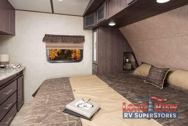 Forest River Surveyor Master Bedroom