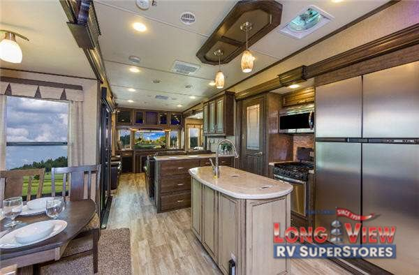 Find the Largest Extended Stay Fifth Wheel in the Grand Design Solitude - LongviewRV Blog