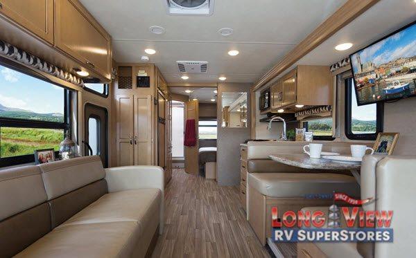 Thor Motor Coach A.C.E. Class A Motorhome Interior