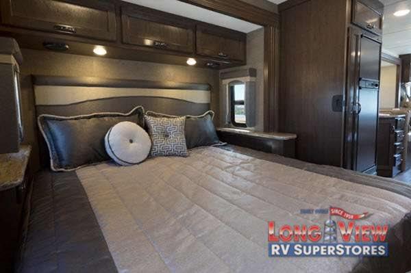 Thor Motor Coach A.C.E. Class A Motorhome Master Bedroom
