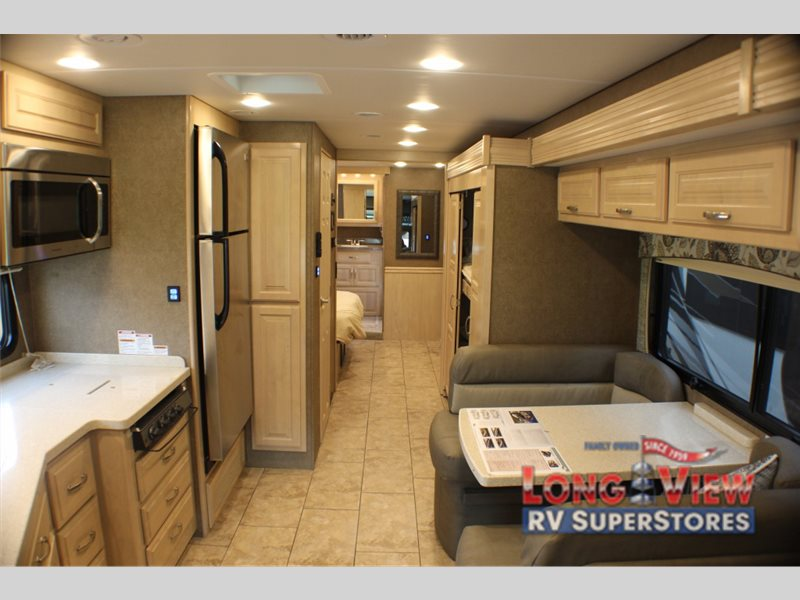 Forest River Legacy SR340 Class A Diesel Motorhome Interior
