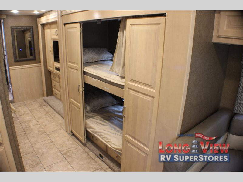 Forest River Legacy SR340 Class A Diesel Motorhome Bunk Beds