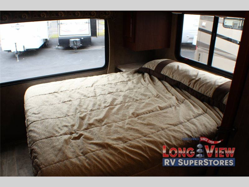Forest River Sunseeker Class C Motorhome Master Bedroom