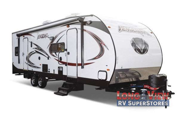 Vengeance Super Sport Toy Hauler Travel Trailer