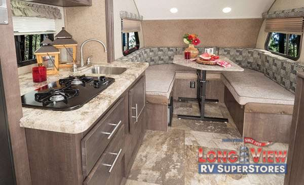 Forest River R-Pod Travel Trailer Kitchen