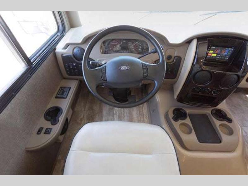 Thor Challenger Class A Motorhome Cockpit