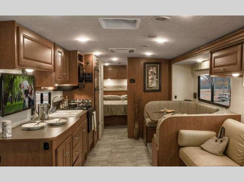 Winnebago Sunstar Class A Motorhome Interior