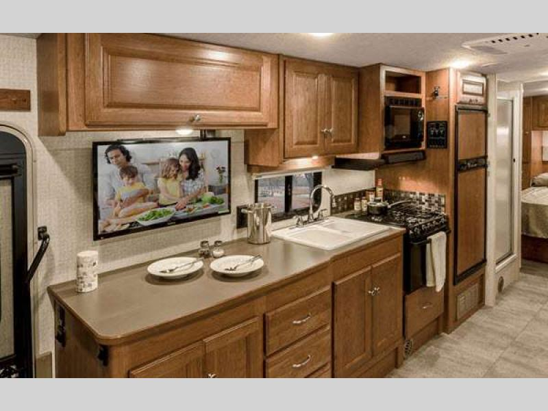 Winnebago Sunstar Class A Motorhome Kitchen