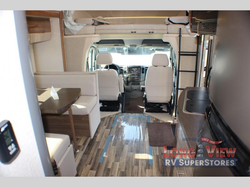 Winnebago Navion Class C Motorhome Interior