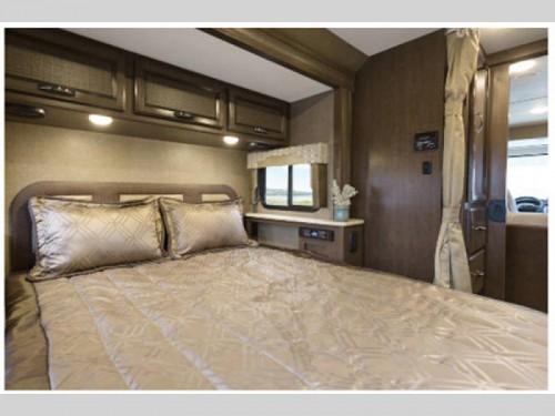 Thor Vegas Class a Motorhome Bedroom