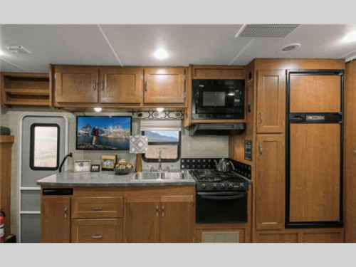 Winnebago Spirit Class C Motorhome Kitchen