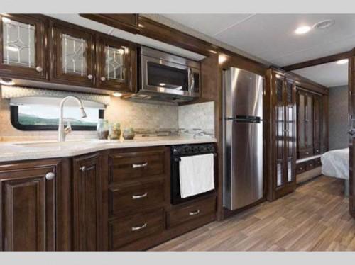 Thor Miramar Class A Motorhome Kitchen