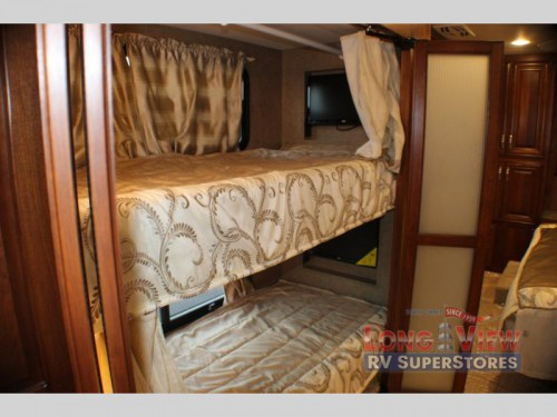 Forest River Charleston Class A Diesel Motorhome Bunks
