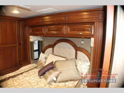 Forest River Charleston Class A Diesel Motorhome Master Bedroom