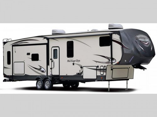 Forest River Wildwood Heritage Glen Fifth Wheel