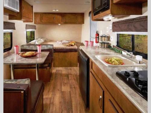 Wildwood X Lite FS travel trailer Interior