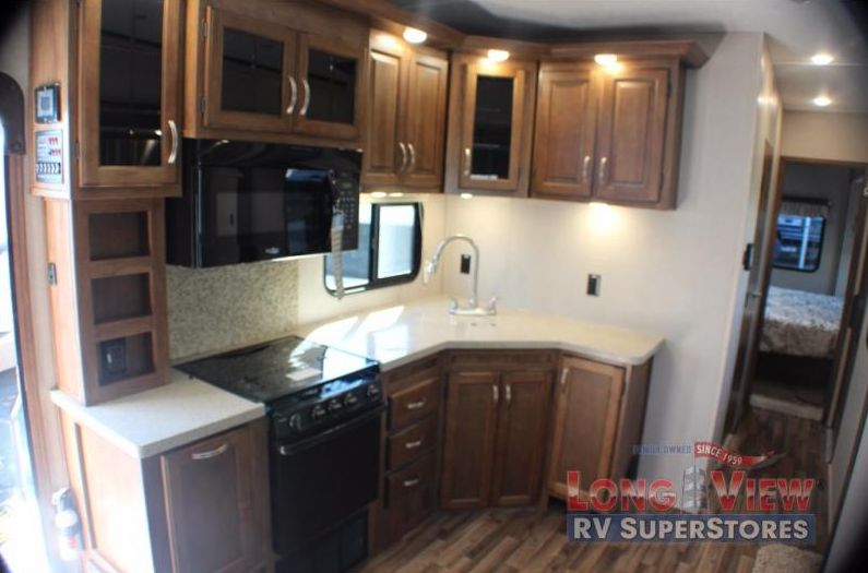 coachmen chaparral kitchen