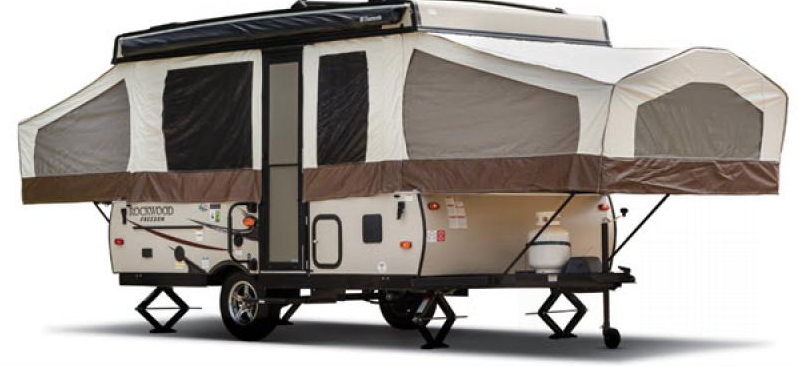freedom series folding camper