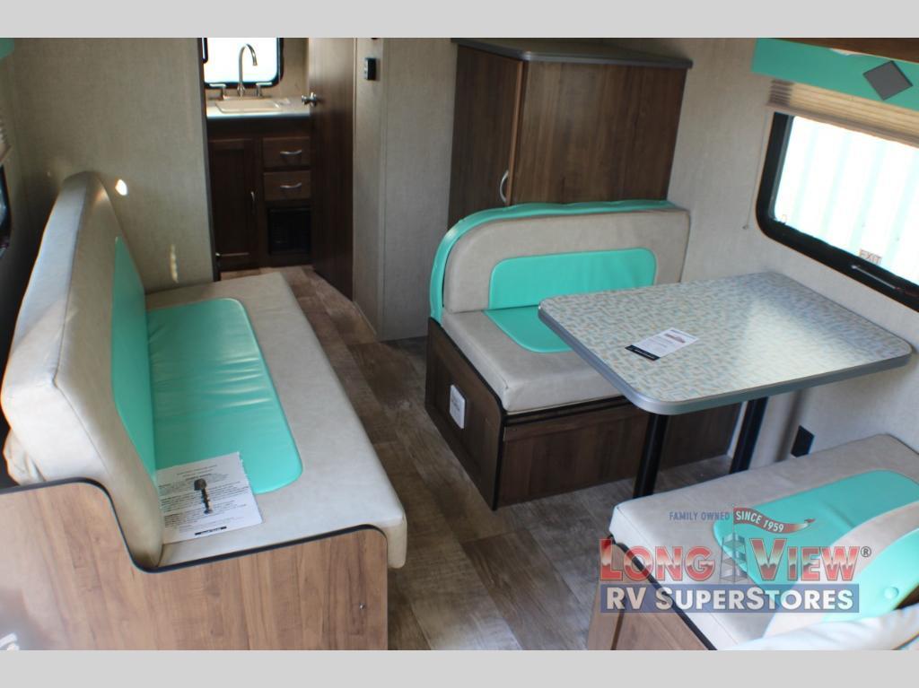 Capri 199 RK interior